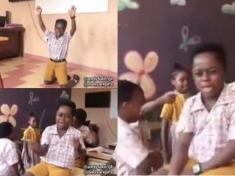 """Primary 6 Student Sings """"Second Sermon"""" Song Word For Word whiles He was Punished (Watch Video)"""